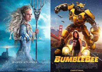 Hai Bom Tấn Cuối Năm Aquaman Và Bumblebee Với Sự Tham Gia Của Virtuos Đồng Loạt Ra Mắt
