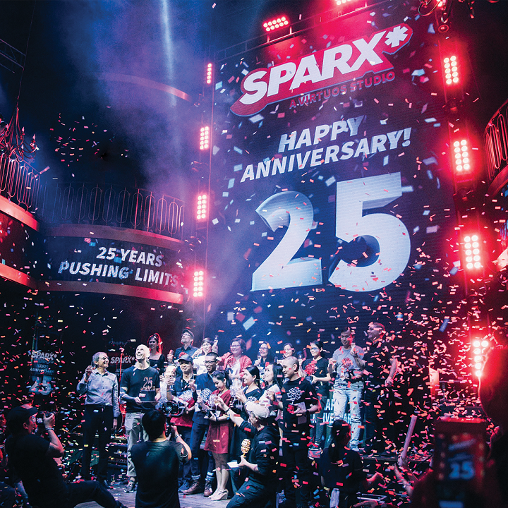 sparx-25-years